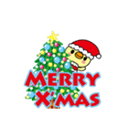 トリさんのクリスマス・年末年始・お正月(個別スタンプ:01)