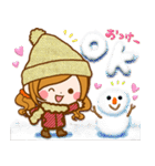 ほのぼのカノジョ 【冬のあったかコトバ】(個別スタンプ:07)