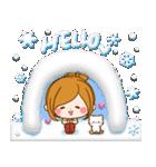 ほのぼのカノジョ 【冬のあったかコトバ】(個別スタンプ:23)