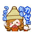 ほのぼのカノジョ 【冬のあったかコトバ】(個別スタンプ:26)