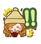 ほのぼのカノジョ 【冬のあったかコトバ】(個別スタンプ:30)