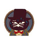 猫町倶楽部の読書会/猫男爵と淑女ねこ(個別スタンプ:26)