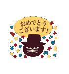 猫町倶楽部の読書会/猫男爵と淑女ねこ(個別スタンプ:28)