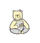 辛辣の黄色いくまさん(個別スタンプ:25)
