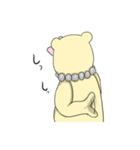 辛辣の黄色いくまさん(個別スタンプ:40)