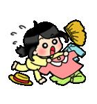 (恋)待ち合わせ&恋愛系☆黒髪女子第2弾(個別スタンプ:13)
