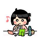 (恋)待ち合わせ&恋愛系☆黒髪女子第2弾(個別スタンプ:14)