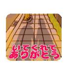 (恋)待ち合わせ&恋愛系☆黒髪女子第2弾(個別スタンプ:40)
