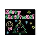 動く!ネオンメッセージ(正月・クリスマス)(個別スタンプ:10)