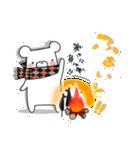 しろくまたん☆シンプルすたんぷ 冬(個別スタンプ:05)
