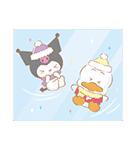 冬のサンリオキャラクターズ(個別スタンプ:13)