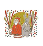 サンタのおじいさんとトナカイさん☆(個別スタンプ:02)
