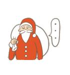 サンタのおじいさんとトナカイさん☆(個別スタンプ:05)