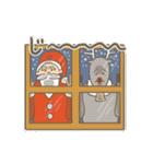 サンタのおじいさんとトナカイさん☆(個別スタンプ:06)