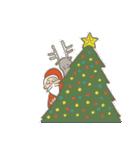 サンタのおじいさんとトナカイさん☆(個別スタンプ:07)