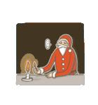 サンタのおじいさんとトナカイさん☆(個別スタンプ:10)