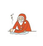 サンタのおじいさんとトナカイさん☆(個別スタンプ:11)
