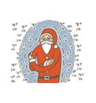 サンタのおじいさんとトナカイさん☆(個別スタンプ:12)