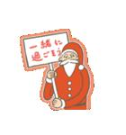 サンタのおじいさんとトナカイさん☆(個別スタンプ:13)