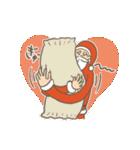 サンタのおじいさんとトナカイさん☆(個別スタンプ:16)