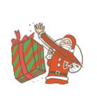 サンタのおじいさんとトナカイさん☆(個別スタンプ:18)
