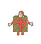 サンタのおじいさんとトナカイさん☆(個別スタンプ:19)
