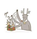 サンタのおじいさんとトナカイさん☆(個別スタンプ:20)