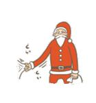 サンタのおじいさんとトナカイさん☆(個別スタンプ:25)