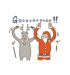 サンタのおじいさんとトナカイさん☆(個別スタンプ:29)