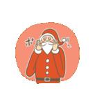 サンタのおじいさんとトナカイさん☆(個別スタンプ:31)
