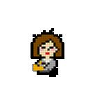 OLの日常 ピクセル(個別スタンプ:1)
