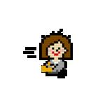 OLの日常 ピクセル(個別スタンプ:2)