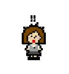 OLの日常 ピクセル(個別スタンプ:10)