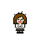 OLの日常 ピクセル(個別スタンプ:12)