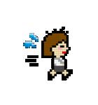 OLの日常 ピクセル(個別スタンプ:18)