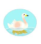いろとりどりの鳥(個別スタンプ:36)