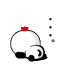酉をかぶった♪パンダねこ(個別スタンプ:33)