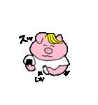 金髪豚野郎(個別スタンプ:27)