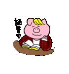 金髪豚野郎(個別スタンプ:37)