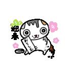 猫の可愛い年賀状(個別スタンプ:08)