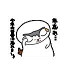 猫の可愛い年賀状(個別スタンプ:21)