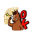 お馬さんスタンプ(個別スタンプ:24)