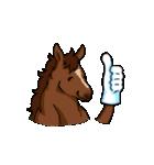 お馬さんスタンプ(個別スタンプ:34)