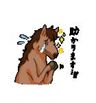 お馬さんスタンプ(個別スタンプ:40)