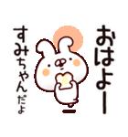 【すみちゃん】専用あだ名/名前スタンプ(個別スタンプ:01)