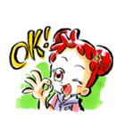 おジャ魔女どれみ(個別スタンプ:01)