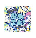 おそ松さん×サンリオキャラクターズ(個別スタンプ:01)