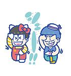おそ松さん×サンリオキャラクターズ(個別スタンプ:02)