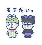 おそ松さん×サンリオキャラクターズ(個別スタンプ:03)