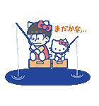 おそ松さん×サンリオキャラクターズ(個別スタンプ:07)